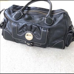 Marc by Marc Jacobs Black Leather Satchel Handbag